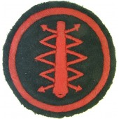 M 34 Red Fleet sleeve insignia for artillery electrician. Very rare!