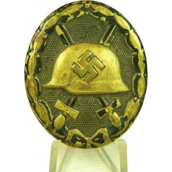 Original wound badge in black. Espenlaub militaria