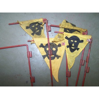 Set of 3 German Pionier signs. Espenlaub militaria