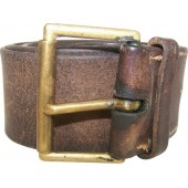 US made lend lease Soviet leather belt in size 120 cm.