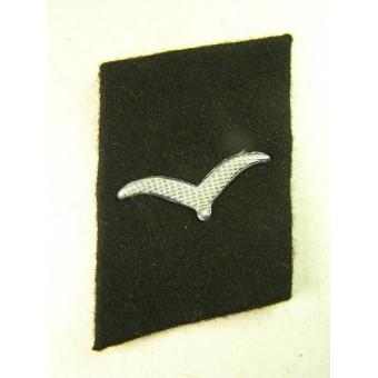 3rd Reich Luftwaffe Baueinheiten der Luftwaffe collar tabs, black. Espenlaub militaria