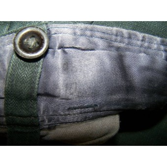 Luftwaffe ground troops or field divisions HBT drillich trousers. Espenlaub militaria