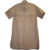 Tropical DAK Luftwaffe cotton shirt, short sleevs.