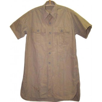 Tropical DAK Luftwaffe cotton shirt, short sleevs.. Espenlaub militaria