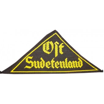 RZM labeled HJ /DJ sleeve patch Ost Suedetenland. Espenlaub militaria