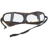 Armored troops/Motorcyclist/Automotive troops leather goggle