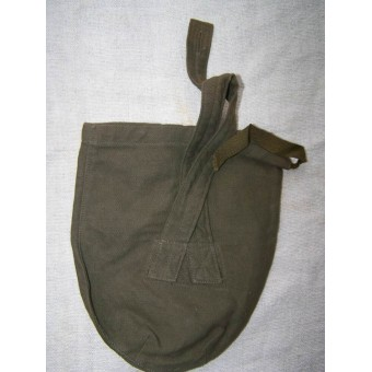 Early Postwar, DDR made canteen cover, 3rd Reich materials used. Espenlaub militaria