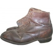 Lend-lease US to USSR short leather shoes