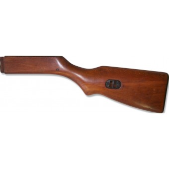Original replacement wood stock for Ppsh-41.. Espenlaub militaria