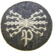 Peilfunkers radio direction finders Luftwaffe Specialist sleeve patch.