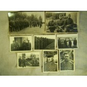 Set of the photos belonged to Latvian officer of the SS in 15th Waffen Gren.r Div. SS