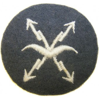 WW2 German Luftwaffe Flugmeldepersonal- Air raid warning personnel. Espenlaub militaria