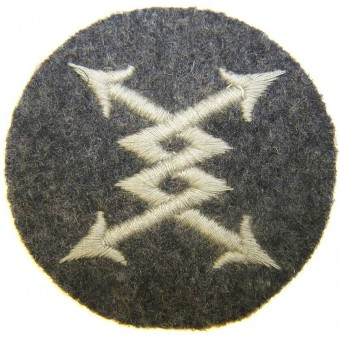 WW2 German Luftwaffe Specialist sleeve patch Fernsprecher- Telephone operators. Espenlaub militaria