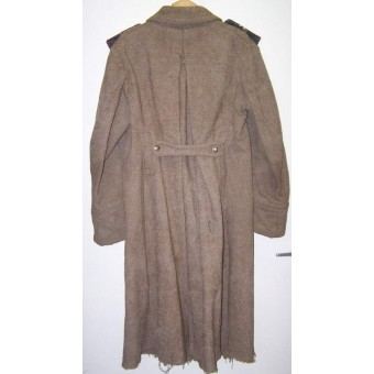 M 41 greatcoat for enlisted men, maker marked. Espenlaub militaria