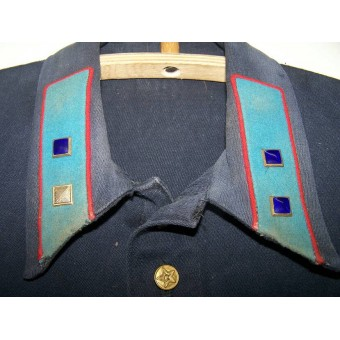 Soviet blue summer gymnasterka, sergeant of RKM- Russian Police.. Espenlaub militaria