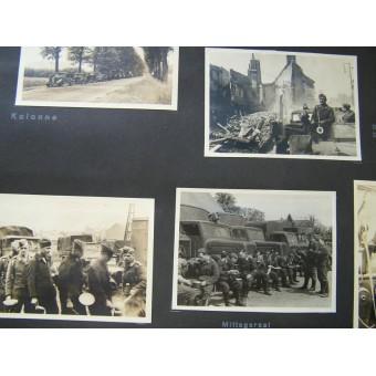 Luftnachrichten soldiers photoalbum, 289 pics. Very nice!. Espenlaub militaria