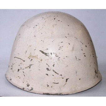 Soviet M 40 / CШ 40 white, winter camo helmet made by factory ZKO. Espenlaub militaria