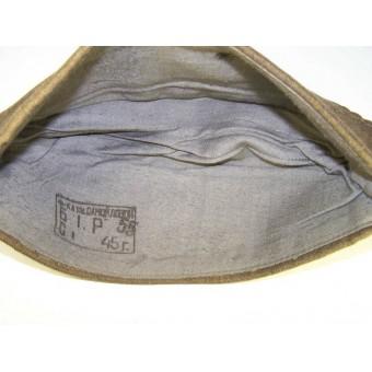 Soviet wool pilotka side hat dated 1945 year. Espenlaub militaria