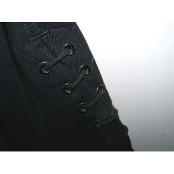 Black Allgemeine or SS VT breeches, RZM SS marked.. Espenlaub militaria