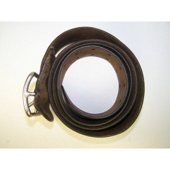 M 32 officers and high NCOs leather belt. Espenlaub militaria