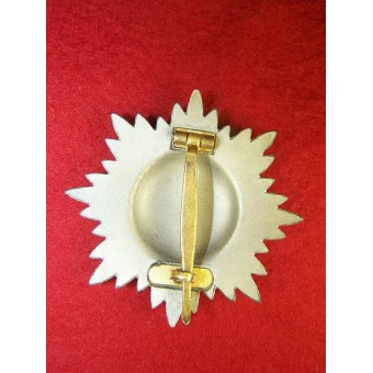 Ostvolk decoration for Bravery with swords, 1st class in gold. Espenlaub militaria
