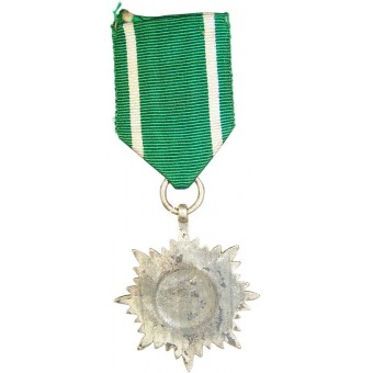 Ostvolk decoration (medal) for Merit without swords in silver, 2nd class. Espenlaub militaria