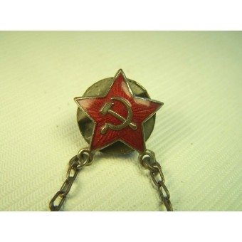 Soviet pre-war made badge of the Soviet Red Cross. Espenlaub militaria