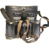 SS Totenkopf Binocular with leather case