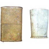 WW2 relics set of german lighter and hand made vodka cup