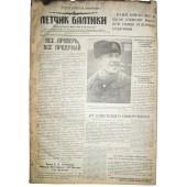 "WW2 pilot's newspaper ""Baltic PILOT""  5 January,1945!"