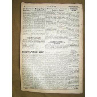 WW2 pilots newspaper Baltic PILOT  7 January,1945!. Espenlaub militaria