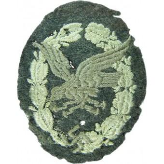3rd Reich Beobachter- Bordschuetzen Abzeichen, embroidered version. Espenlaub militaria