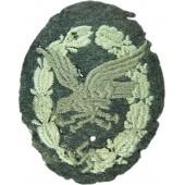 3rd Reich Beobachter- Bordschuetzen Abzeichen, embroidered version
