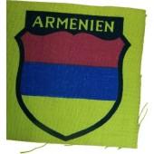 Armenian volunteers,  printed sleeve shield