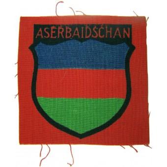 Azerbaijan volunteers shield. Espenlaub militaria