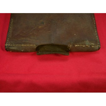 Imperial Russian entrenching tool leather pouch dated 1915. Espenlaub militaria