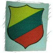 Lithuanian volunteers,  printed sleeve shield