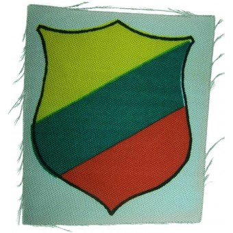 Lithuanian volunteers,  printed sleeve shield. Espenlaub militaria