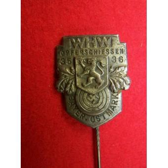 WHW Winterhilfswerk pin, marked E. Schmidhaussler Pforzheim. Espenlaub militaria