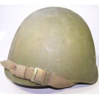 SSch 40 steel helmet by factory ZKO, dated 1953. Espenlaub militaria