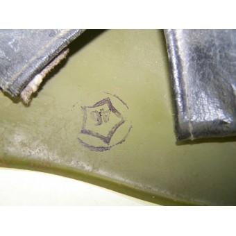 SSch 40 steel helmet by factory ZKO, dated 1953. Espenlaub militaria