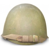 SSch 40 steel helmet by factory ZKO, dated 1953