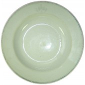 WW2 Russian Red Fleet soup Plate with RKVMF logo.