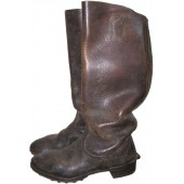 WW2 German dark brown combat boots