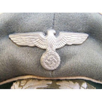 WW2 German infantry crusher type visor hat. Espenlaub militaria