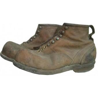 WW2 American Mountain and Ski boots. Land-lease. Espenlaub militaria