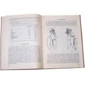 """Battle Gas"" - manual/book.  Gasmasks, battle gas bombs, protect suits, horse gasmasks, tactic... 1928 year."