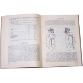 """Battle Gas"" - manual/book.  Gasmasks, battle gas bombs, protect suits, horse gasmasks, tactic... 1928 year."