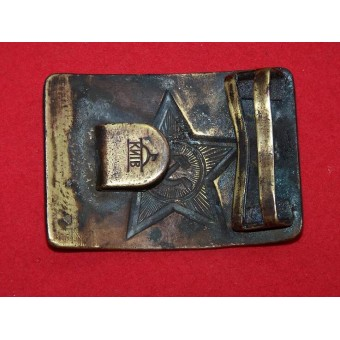 WW2 or early postwar belt buckle M 40. Marked. Espenlaub militaria