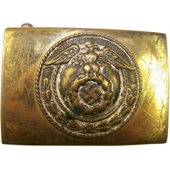 Early small size HJ Hitler Jugend brass buckle. Espenlaub militaria